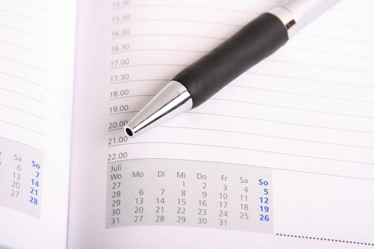 ważne daty w działalności gospodarczej